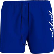 Tommy Hilfiger Herre - Hilfiger Logo Badebukser Sapphire Blue