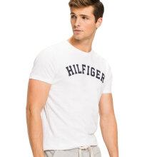 Tommy Hilfiger Herre - Logo Tee White