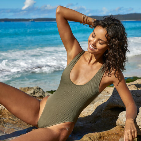 Panos Emporio - Thyme Sienna Swimsuit Black Forest