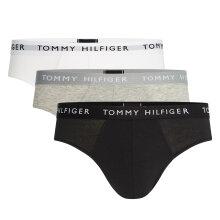Tommy Hilfiger Herre - 3-Pak Recycled Tanga Sort/Grå/Hvid