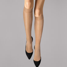 Wolford - Satin Touch 20 Knee-Highs Sand