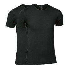 JBS Herre - 2-pak Bambu T-Shirt Svart